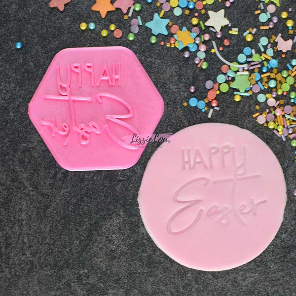 Happy Easter Style 1 Cookie Stamp
