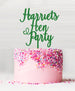 Custom Hen Party Acrylic Cake Topper Green