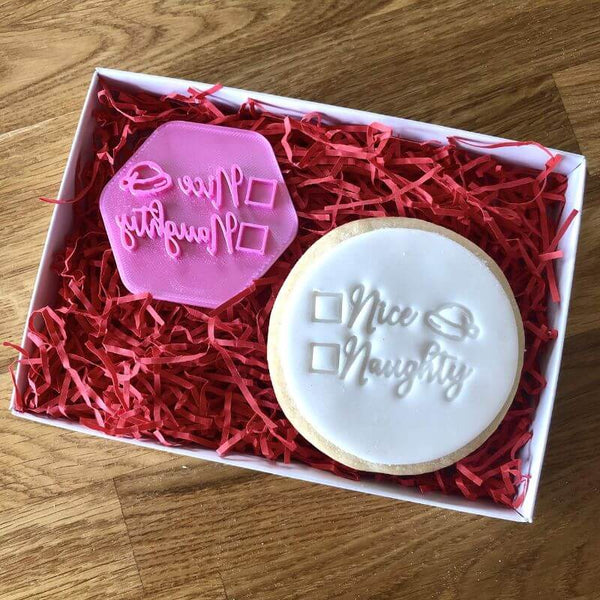 Nice or Naughty Cookie Stamp