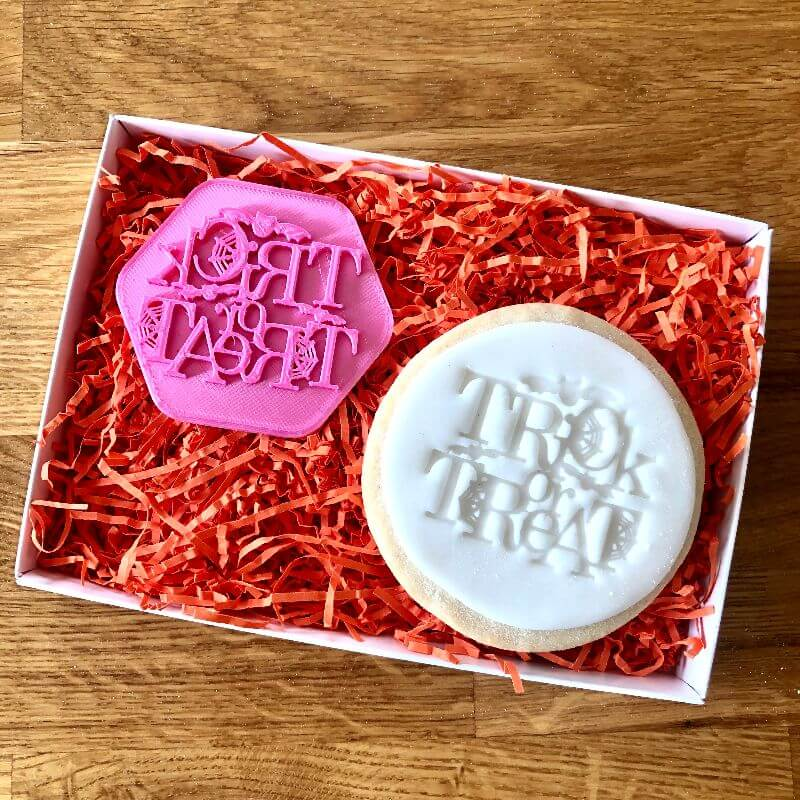 Trick or Treat Cookie Stamp