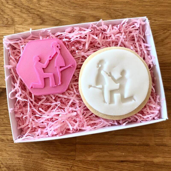 Proposal Engaged Cookie Stamp