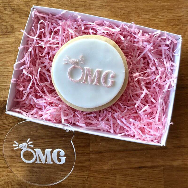 OMG Engagement Cookie Embosser