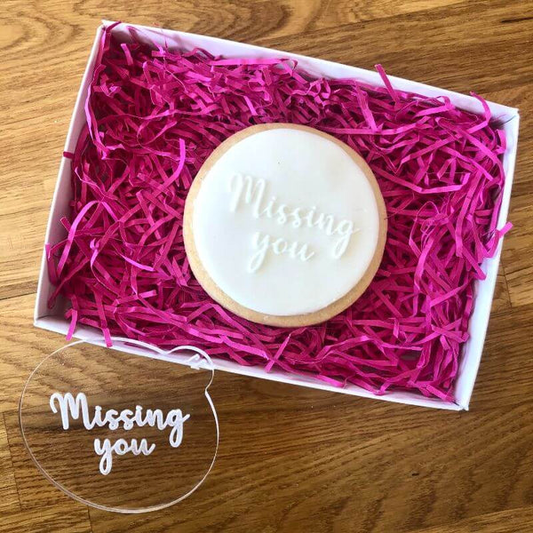 Thinking of You Style 1 Isolation Cookie Embosser