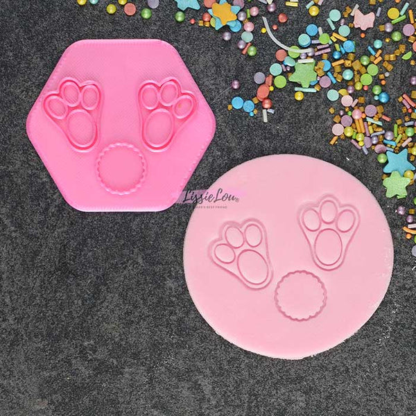 Bunny Feet & Tail Cookie Stamp
