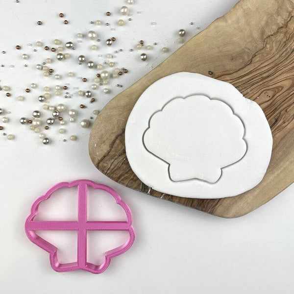 Shell Scallop Under The Sea Cookie Cutter