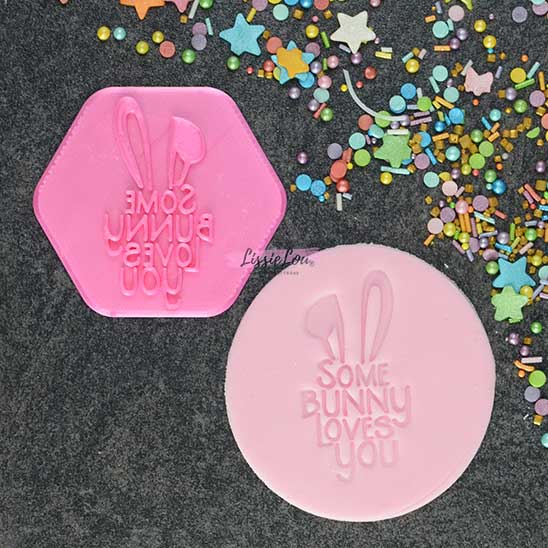Some Bunny Loves You Cookie Stamp