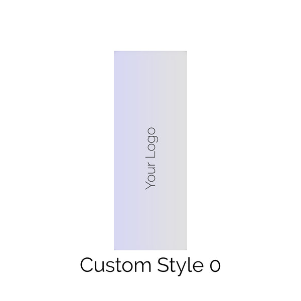 Custom Style 0 Rectangle Solid Edge Cake Scraper - Add Your Logo