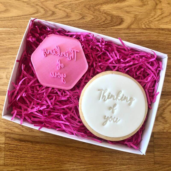 Thinking of You Style 1 Isolation Cookie Stamp
