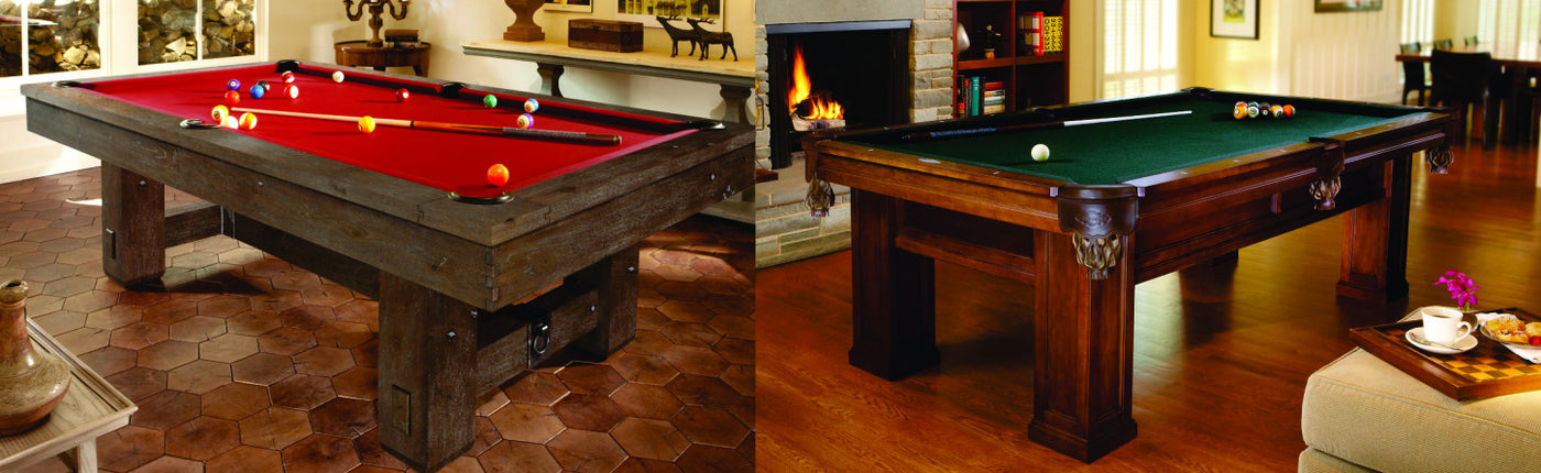 Largest selection of Brunswick Pool Tables and Furnishings