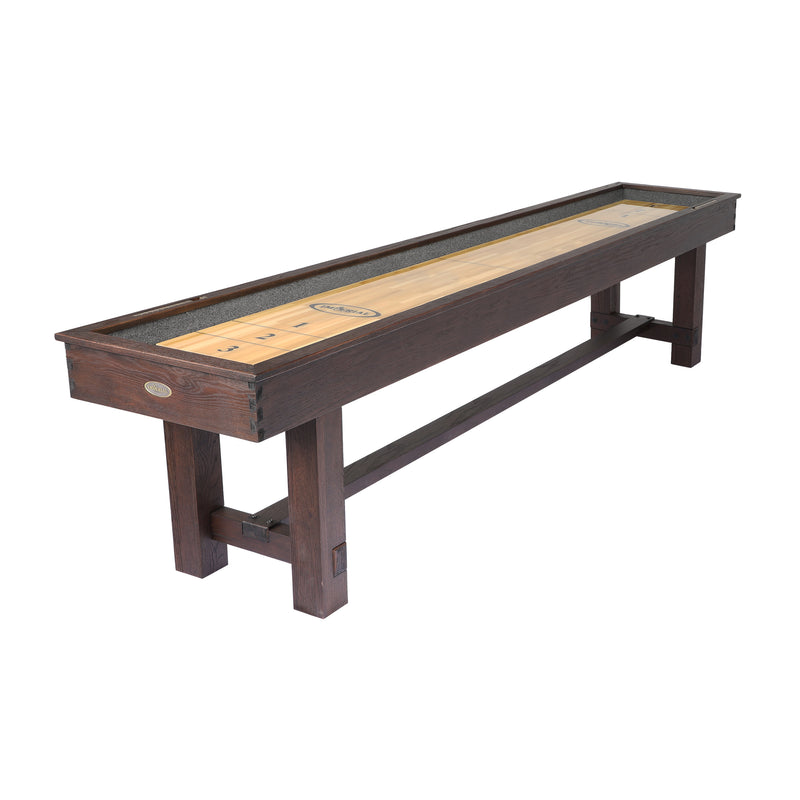 IMPERIAL 12' RENO RUSTIC SHUFFLEBOARD TABLE