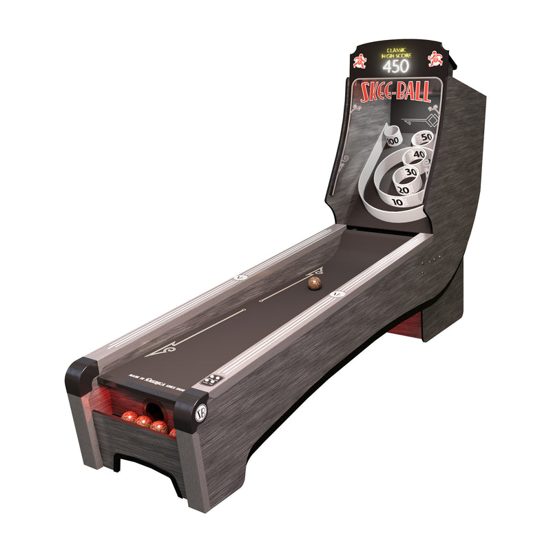 HOME ARCADE PREMIUM SKEE-BALL WITH SCARLET CORK