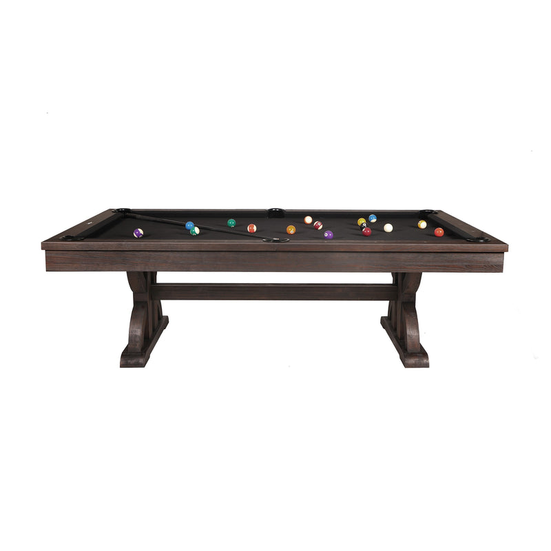 Drummond 8-ft Weathered Dark Chestnut Pool Table