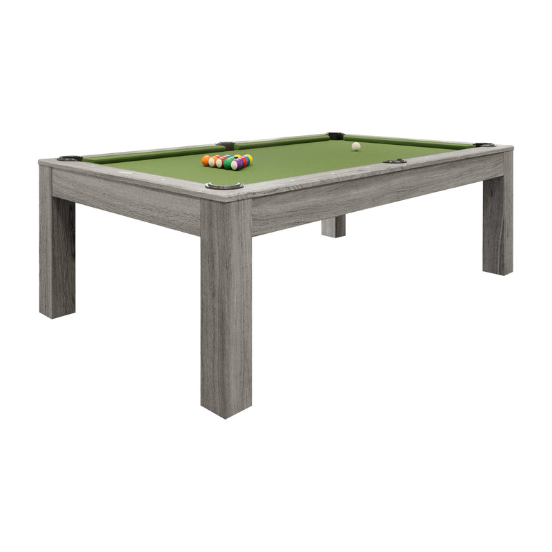 PENELOPE II 7-FT WITH DINING TOP, SILVER MIST
