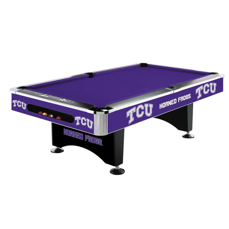 TCU 8-FT. POOL TABLE