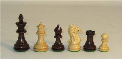 Walnut Stained Triple Weighted Chessmen