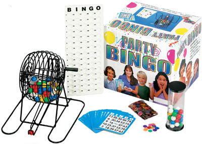Large Party Bingo Set