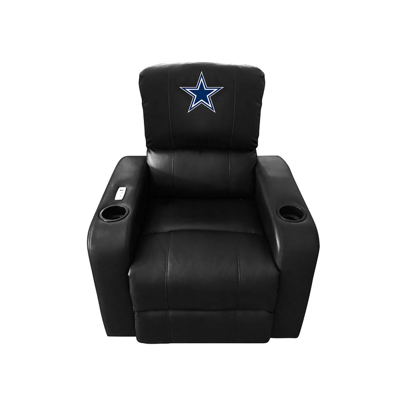 DALLAS COWBOYS POWER THEATER RECLINER WITH USB PORT