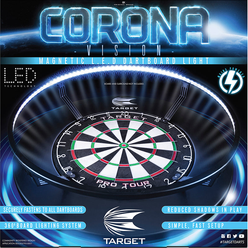 Corona Vision Dartboard Lighting System