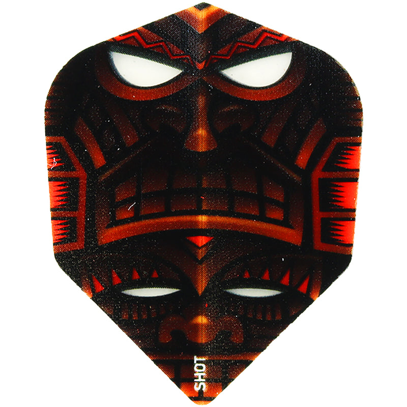 SHOT POLY 100-MICRON SHAPE DART FLIGHTS - TOTEM