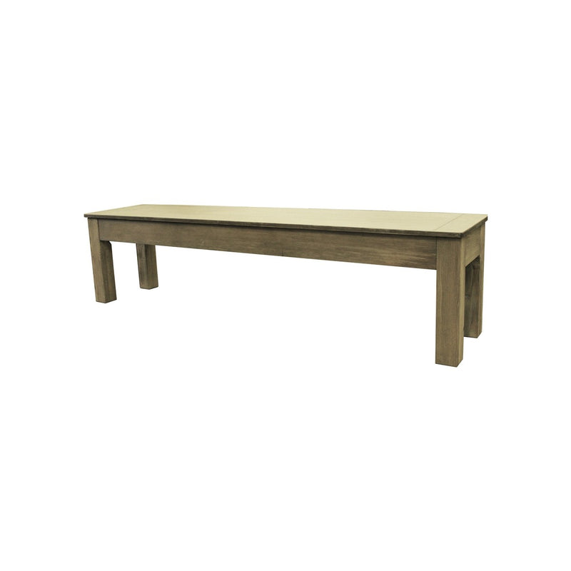 DESERT CHESTNUT LONG BENCH 76""