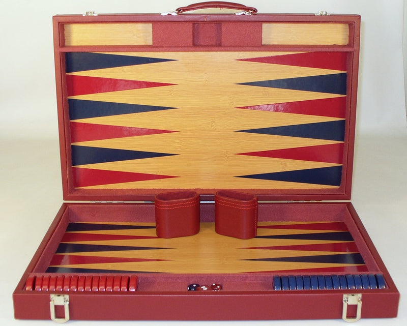 Burgundy Tournament Backgammon