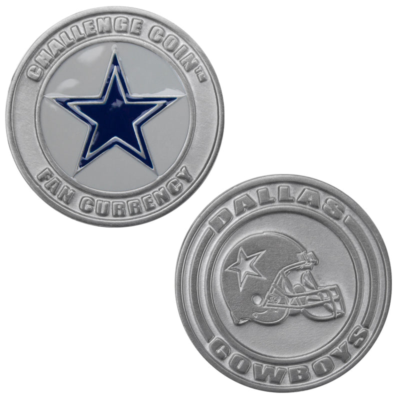 Challenge Coin Card Guard - Dallas Cowboys