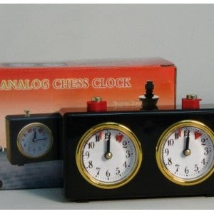 PLASTIC ANALOG CHESS CLOCK