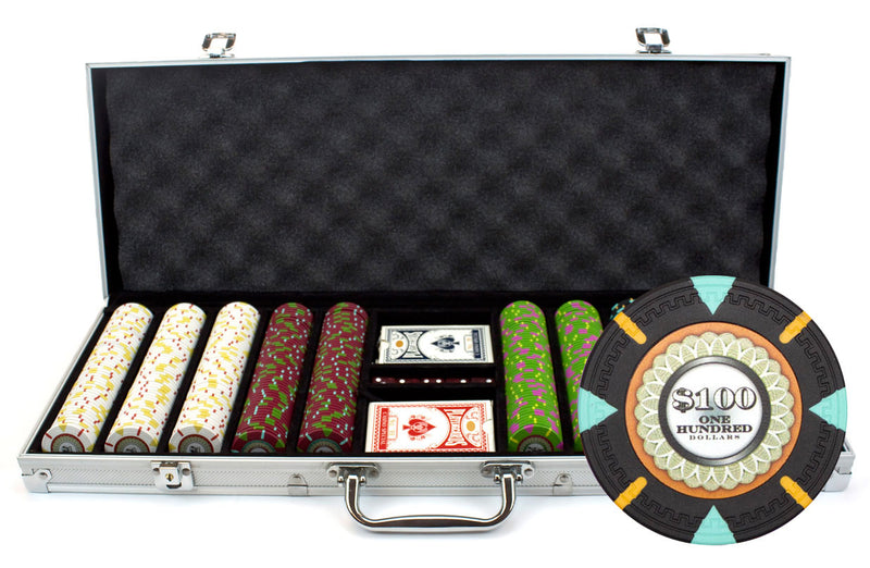 500 Ct. Mint Poker Chip Set
