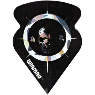 TOMAHAWK DART FLIGHTS - STANDARD SKULL IN SCOPE