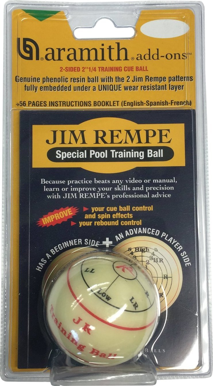 Jim Rempe Training Cue Ball