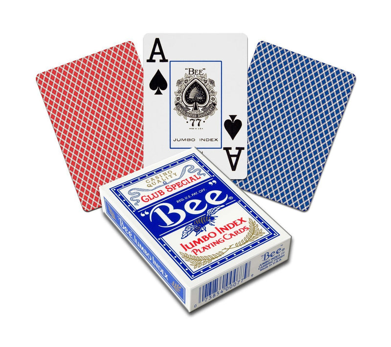 Bee Poker Jumbo Playing Cards