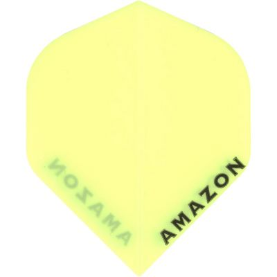 Amazon Standard Dart Flights-Yellow