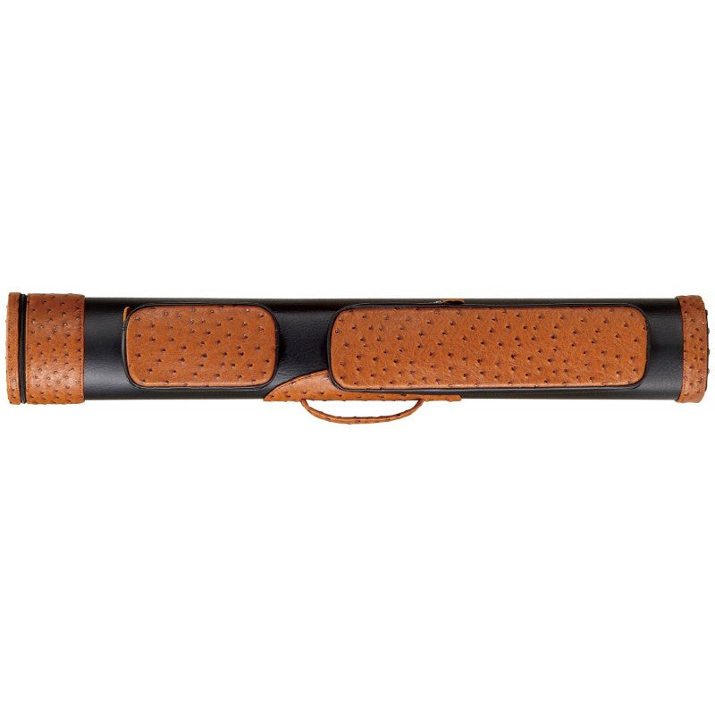 Deluxe 3B/6S Ostrich Print Cue Case