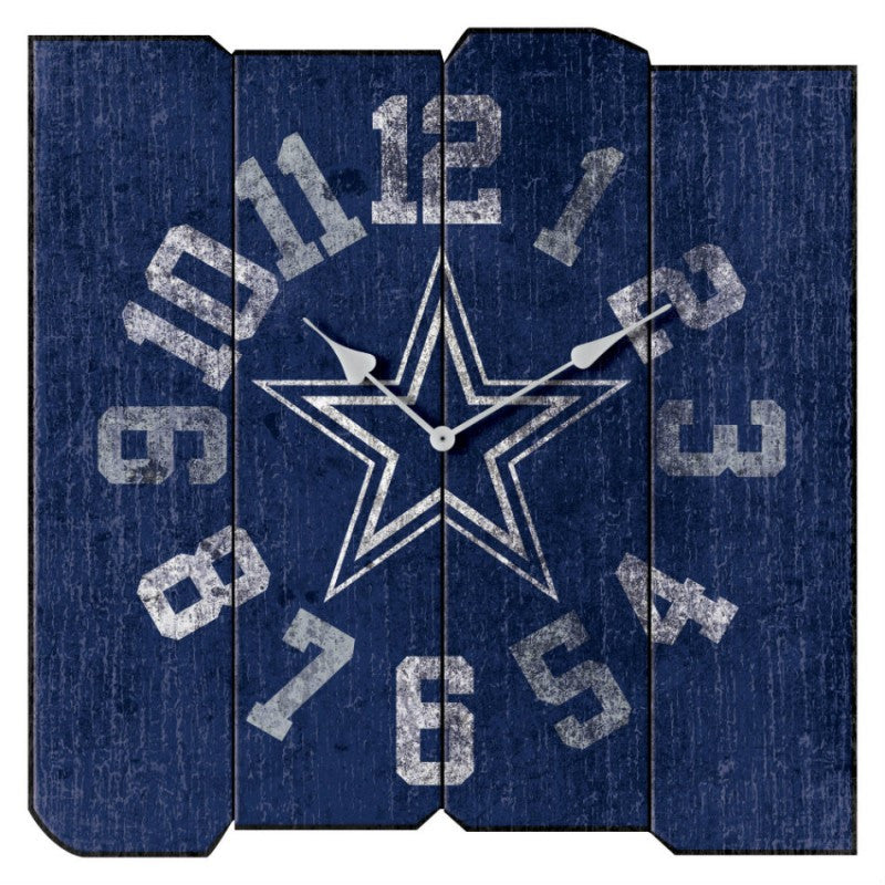 Dallas Cowboys Vintage Clock
