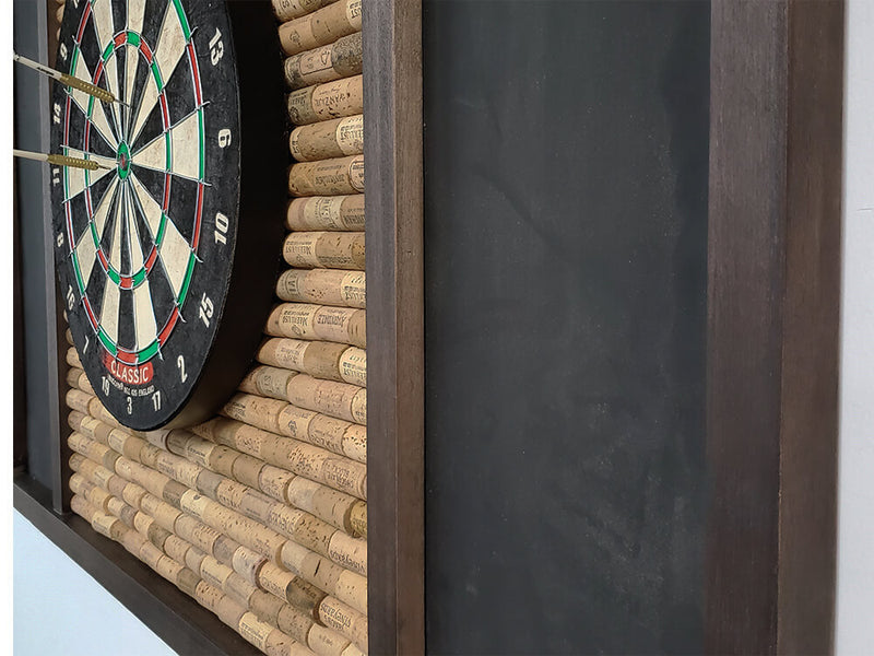 Dart Backboard with Wine Cork