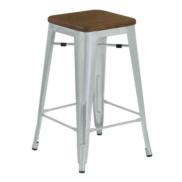 Angelo Backless Bar Stool