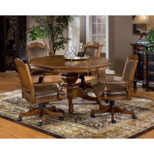 HILLSDALE NASSAU GAME TABLE 5PC SET