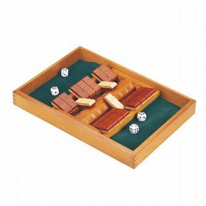 SHUT THE BOX - DOUBLE SIDED 9