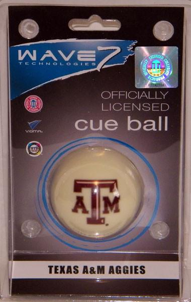 TEXAS A&M CUE BALL