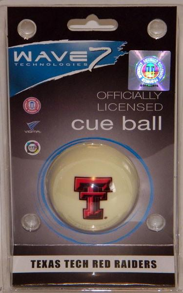 TEXAS TECH CUE BALL
