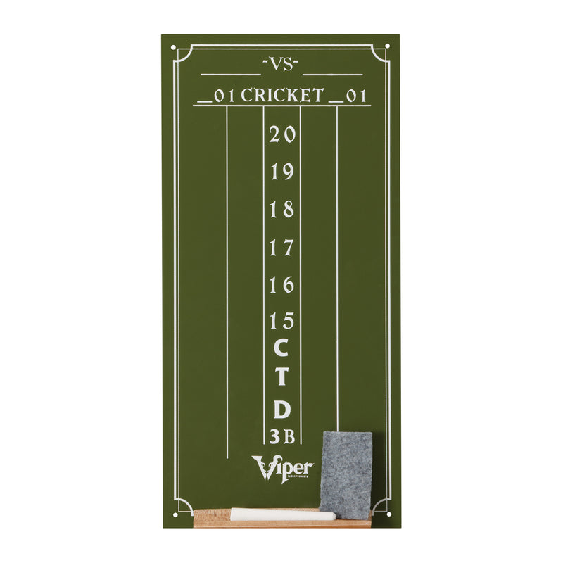 VIPER SMALL CRICKET CHALK SCOREBOARD - GREEN