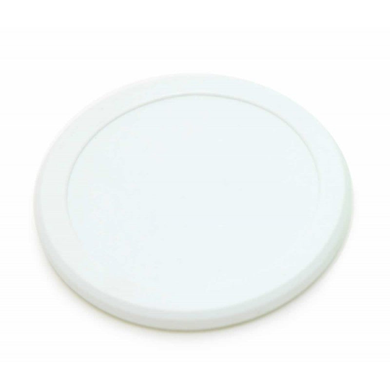 "2.5"" QUIET WHITE PUCK"