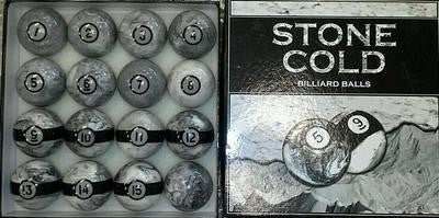 STONE COLD POOL BALL SET