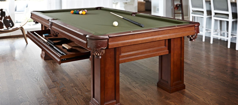Brunswick Oakland II Pool Table Chestnut