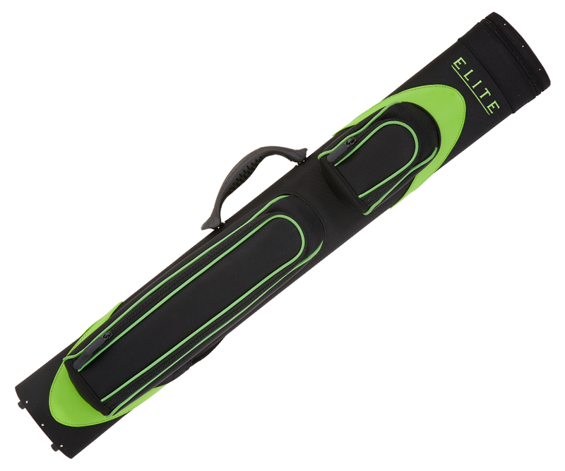 ELITE ECW24 LIME 2 BUTTS 4 SHAFTS WAVE CASE