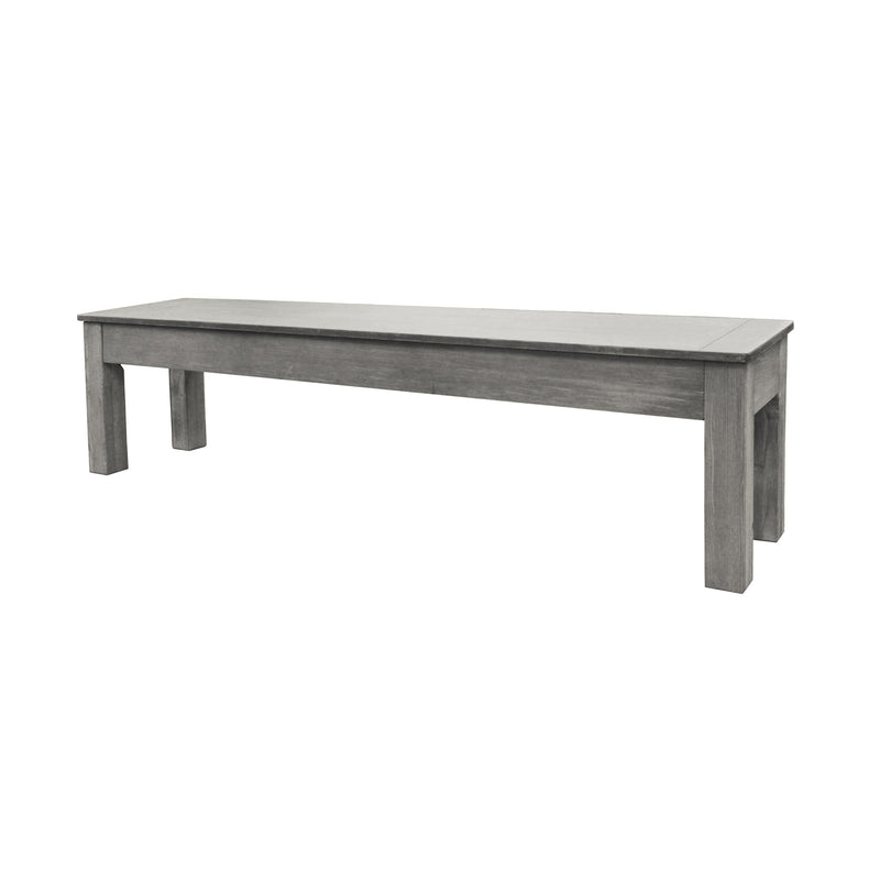 SILVER MIST LONG BENCH 76""