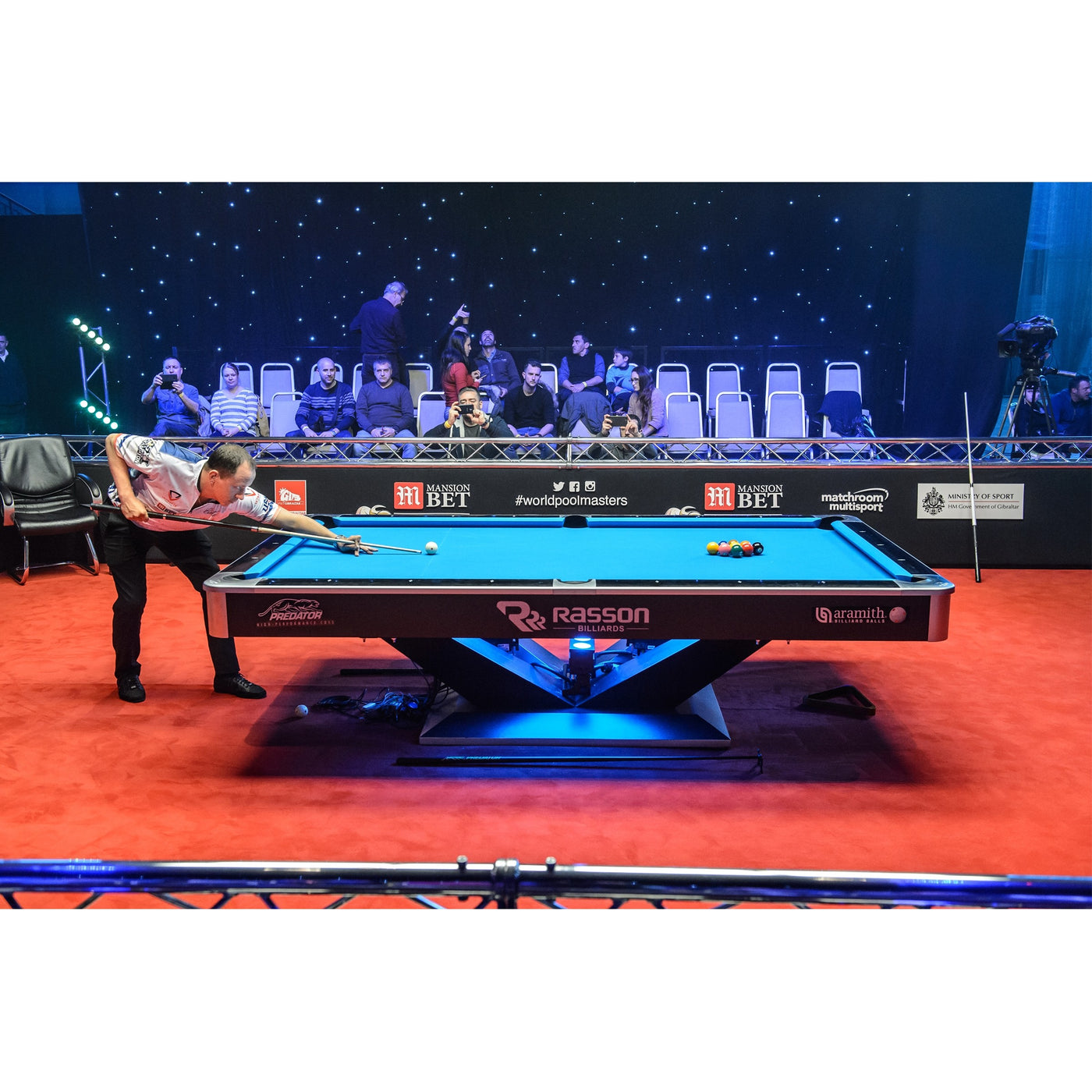 COMMERCIAL POOL TABLE · RASSON PRO VICTORY TOURNAMENT 9 FT. COMMERCIAL POOL  TABLE