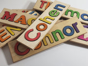 Wooden kids Puzzles, personalized