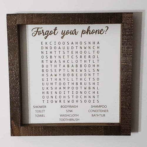 Forgot your phone