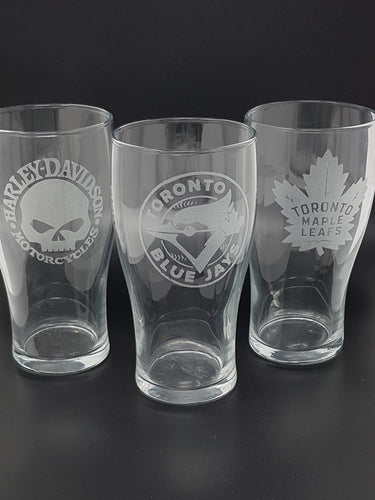 16 oz Beer Glass